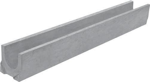 Лоток водоотводный Gidrolica 1000х140х125 мм бетонный