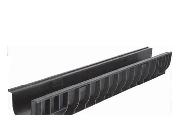 Лоток водоотводный Gidrolica 1000х145х135 мм пластиковый