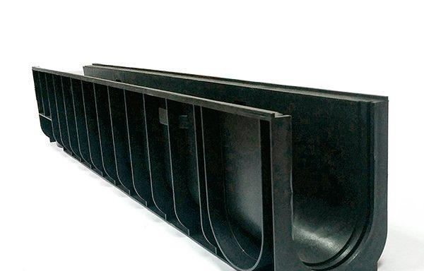 Лоток водоотводный Gidrolica 1000х145х185 мм пластиковый
