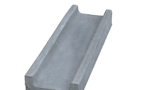 Лоток водоотводный Gidrolica 500х140х60 мм бетонный