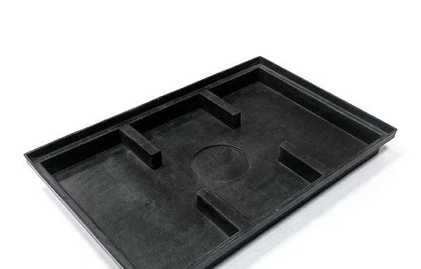 Поддон пластиковый для решетки придверной Gidrolica 400х600 мм