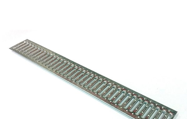 Решетка водоприемная Gidrolica 1000х136 мм стальная оцинкованная