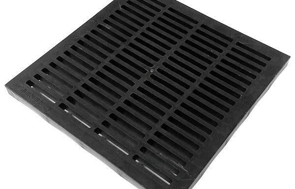 Решетка водоприемная Gidrolica 285х285 мм пластиковая