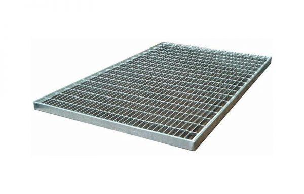 Решетка придверная Gidrolica 390х590 мм стальная