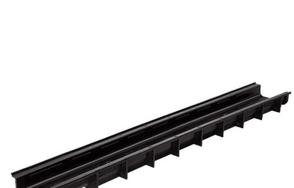 Водоотводный лоток Gidrolica пластиковый 1000х145х60 мм