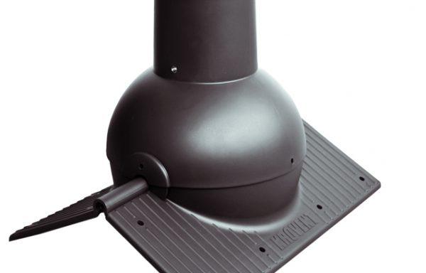 Коньковый элемент Krovent – Pipe-Cone